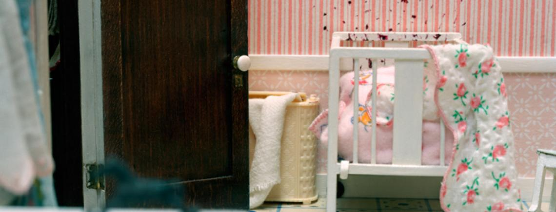 Corinne  May Botz,  Three-Room Dwelling (baby¹s crib), 2004