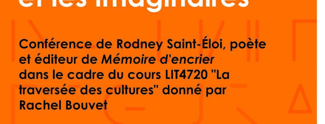 conférence de Rodney Saint-Éloi