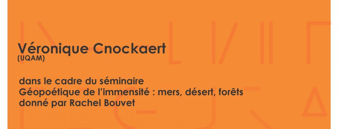 Conférence de Véronique Cnockaert « La forêt: du conte au roman »
